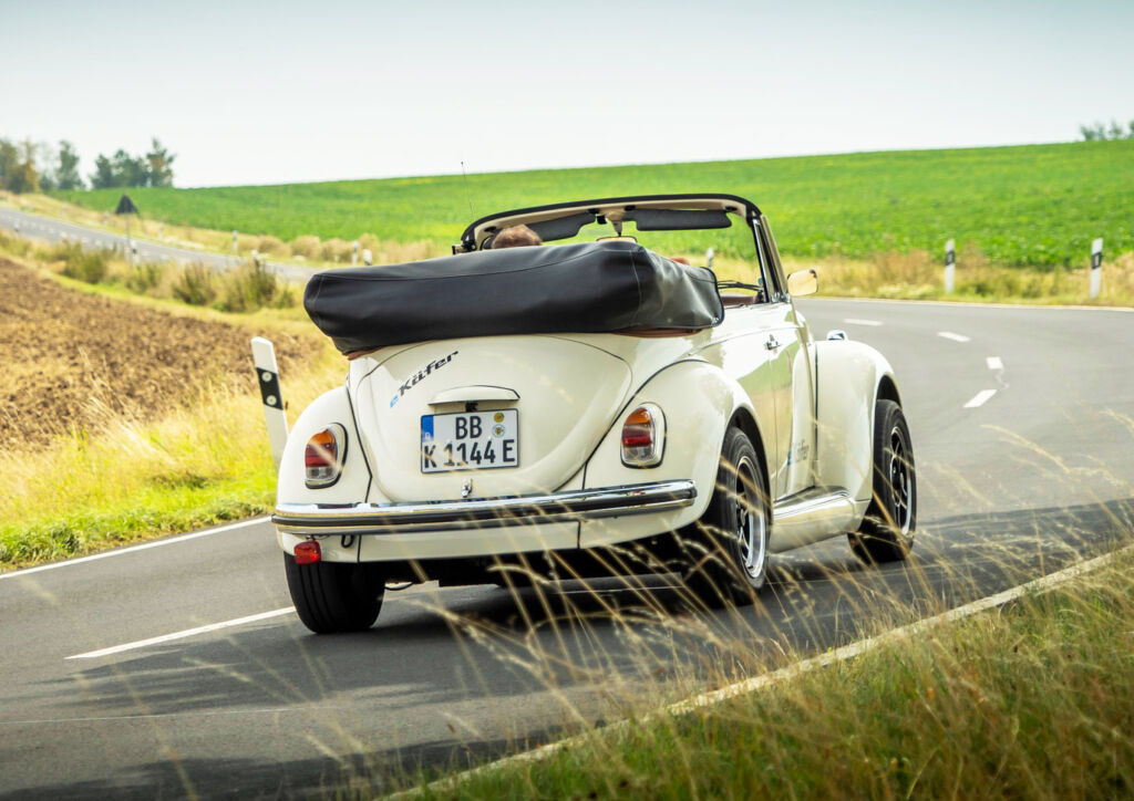 eClassics and Volkswagen Group Components Put the 'E' into a Classic Beetle 3