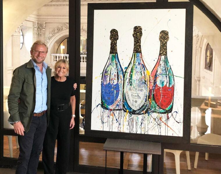 InterContinental Hotels Commission Luxury London Artist Alexander Hall 4
