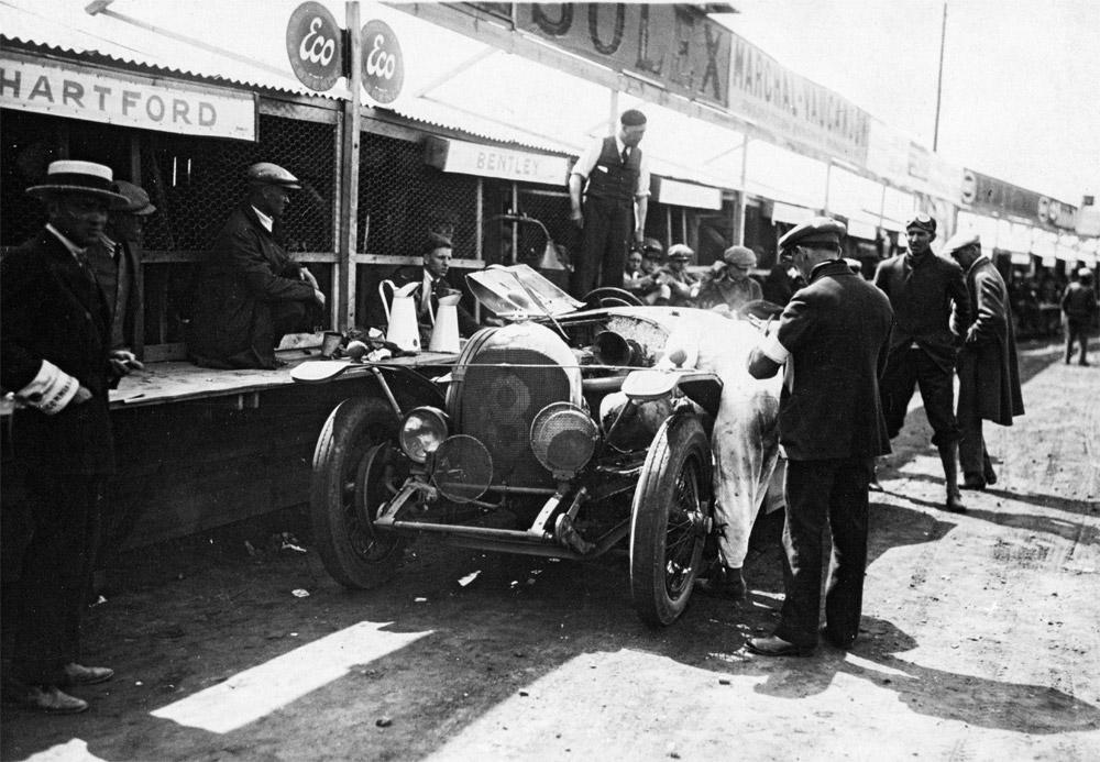 Bentley 8 at Le Mans