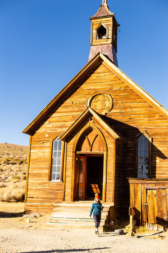 So much of Bodie remains that it's easy to imagine the past as it was.