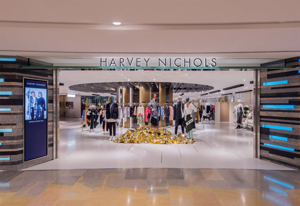 Harvey Nichols new Hong Kong Shopping Experience by Studio Four IV