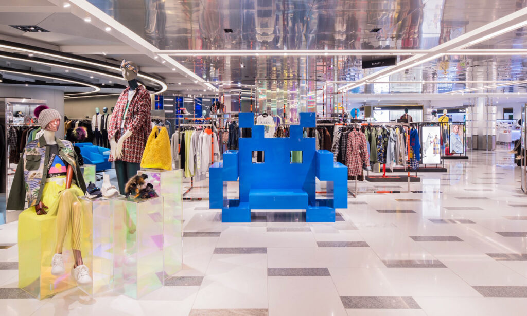 Harvey Nichols new Hong Kong Shopping Experience by Studio Four IV 5