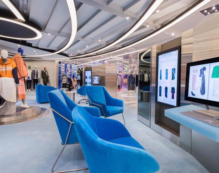 Harvey Nichols new Hong Kong Shopping Experience by Studio Four IV