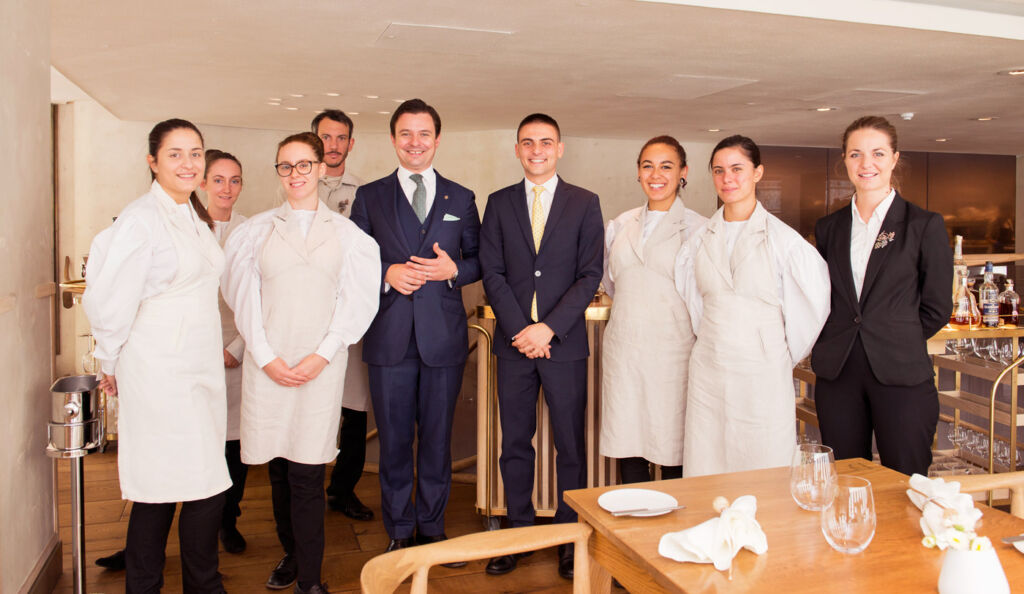The Finalists in the Young Chef Young Waiter Competition 2019