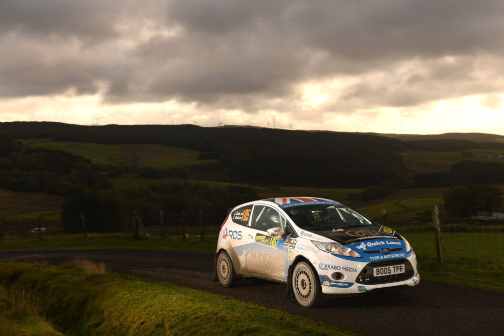 Louise Cook talks about Life Behind The Wheel at the 2019 Wales Rally GB 6