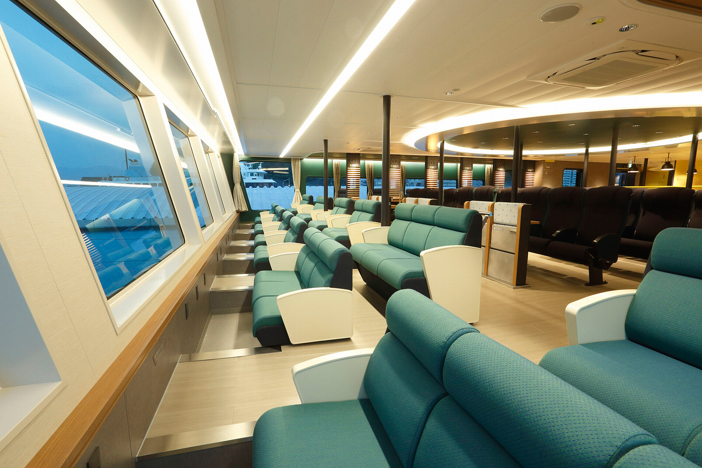 Sea Paseo the New Luxury Sight-Seeing Ferry Experience in Japan 6