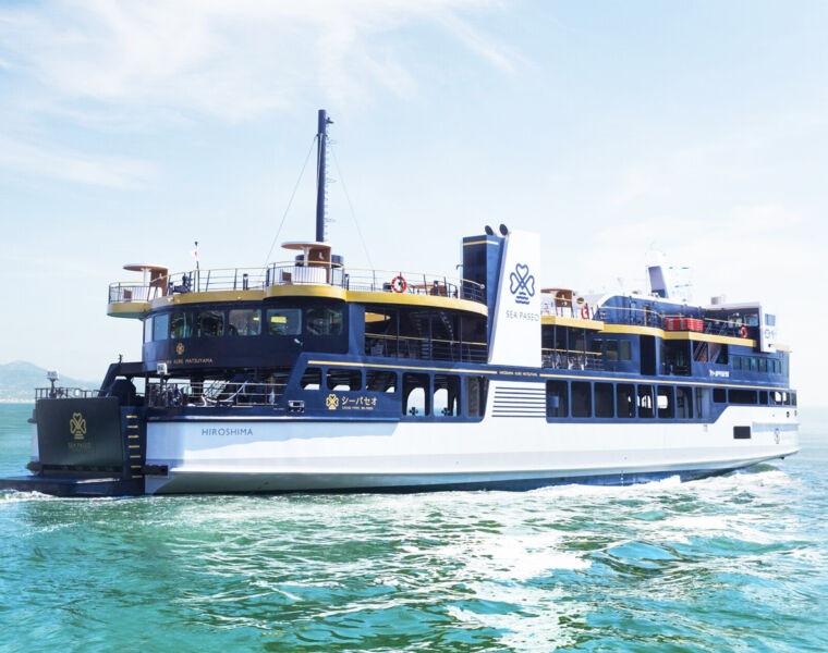 Sea Paseo the New Luxury Sight-Seeing Ferry Experience in Japan