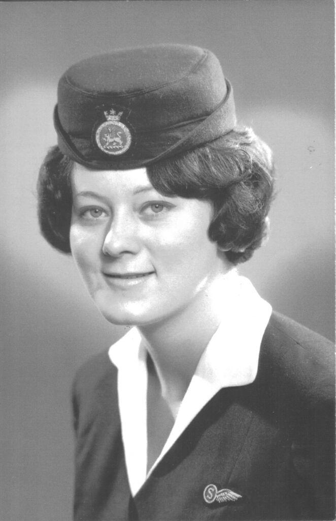 BOAC Cabin Crew Member Barbara Harrison