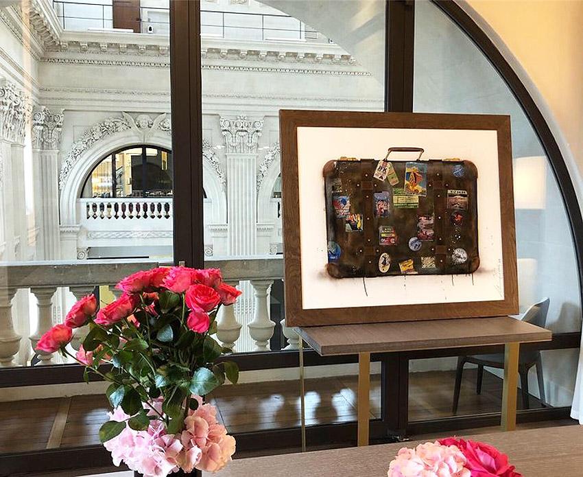InterContinental Hotels Commission Luxury London Artist Alexander Hall 7