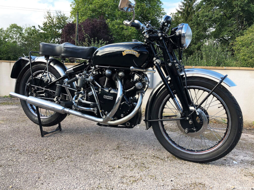 1951 Vincent Black Shadow Achieves £83,250 at H&H Classics Auction