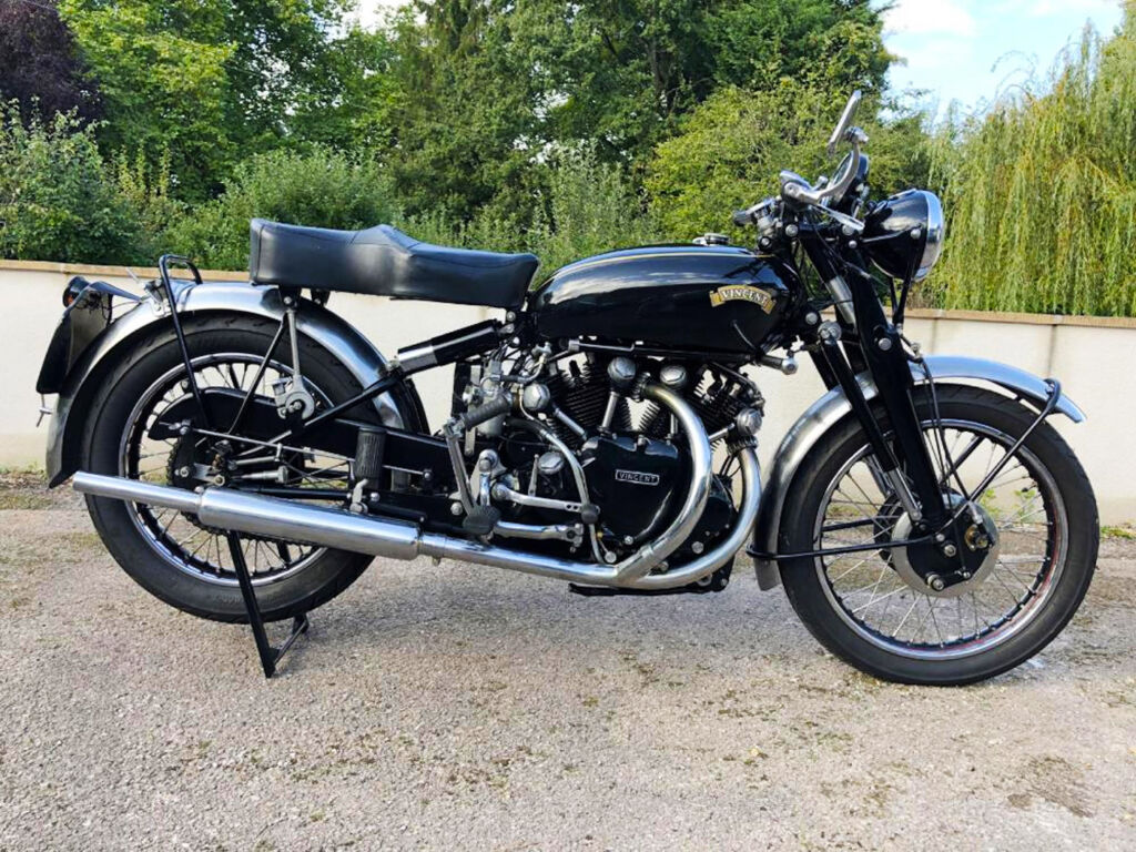 1951 Vincent Black Shadow.