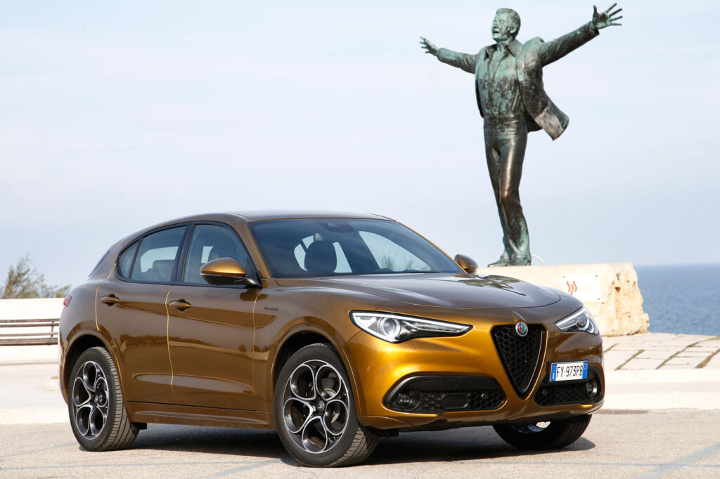 At launch the Alfa Romeo Stelvio came in four trim levels.