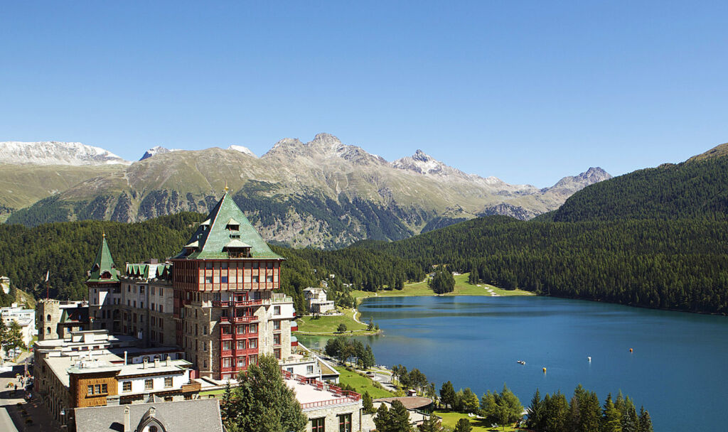 Going All Eco At Badrutt's Palace Hotel In St. Moritz