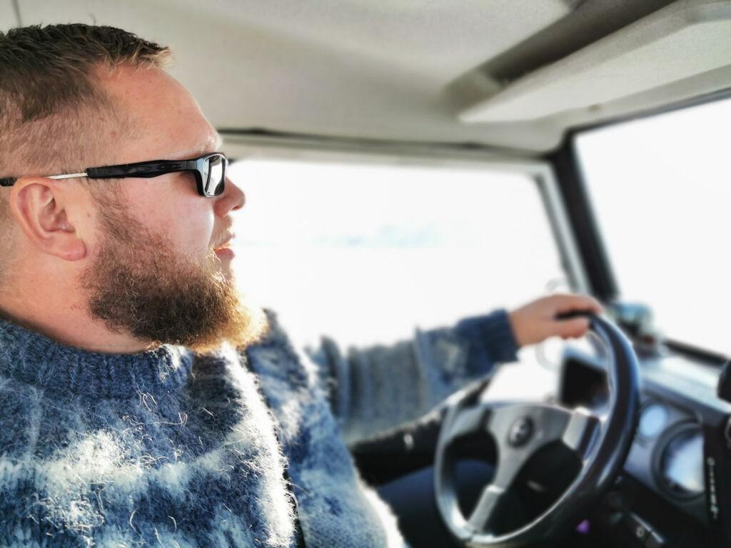 Bessi Jónsson founder of Moonwalker in Iceland.