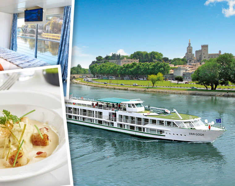 Exploring The Sites Along The Rhône On A CroisiEurope Cruise