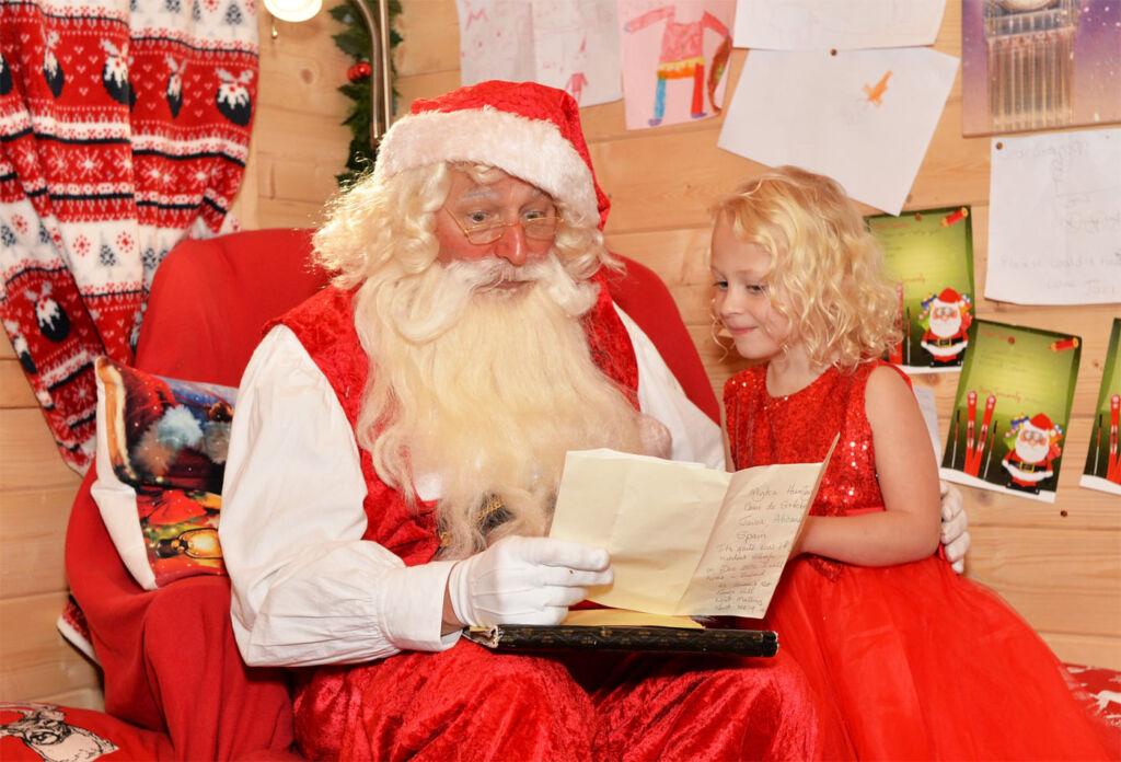 Father Christmas always comes to Royal Tunbridge Wells.