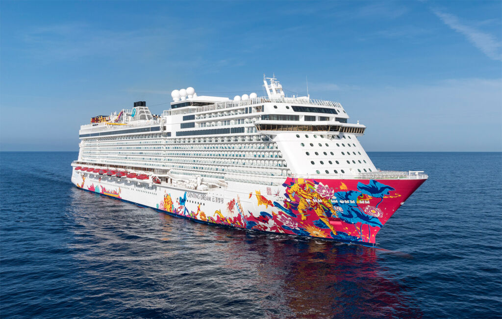 A Voyage on board the Genting Dream
