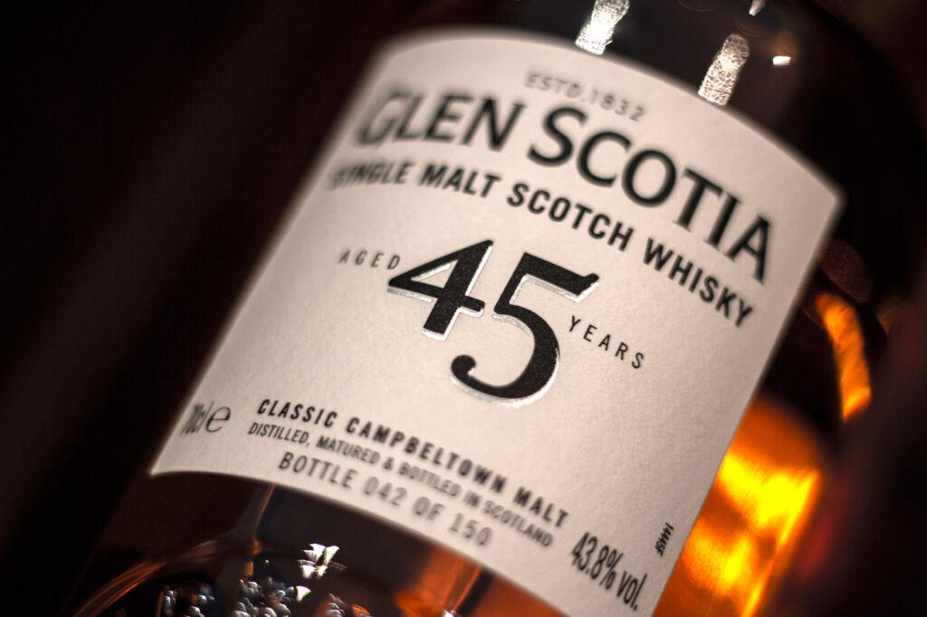 Glen Scotia Unveils Its Very Rare 45 Year Old Single Malt