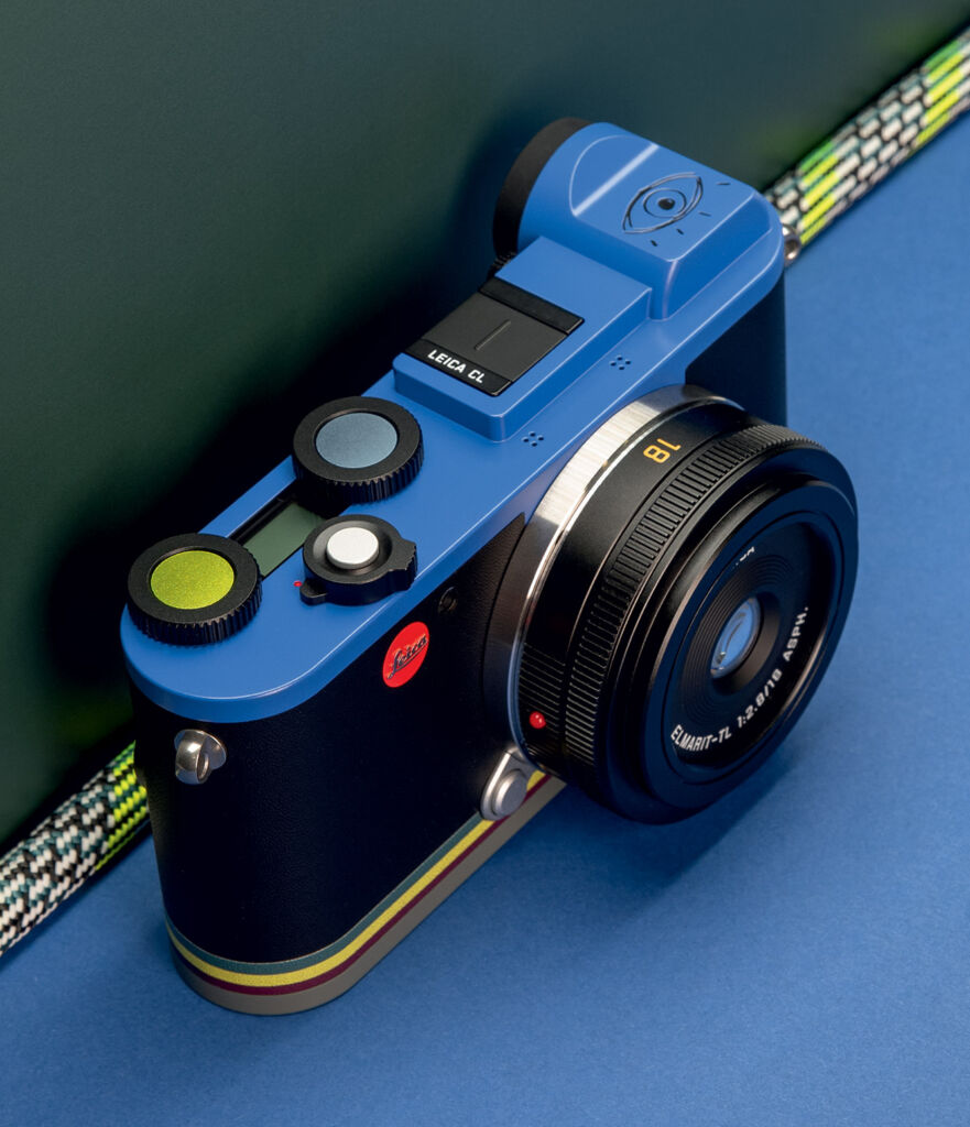 The Leica CL 'Edition Paul Smith'
