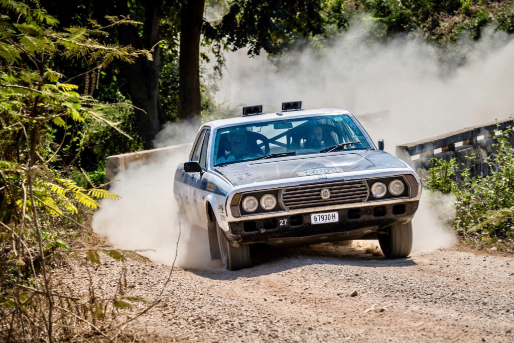 87 Year Old Rally Legend Gerry Crown Joins Epic Round the World Adventure 4