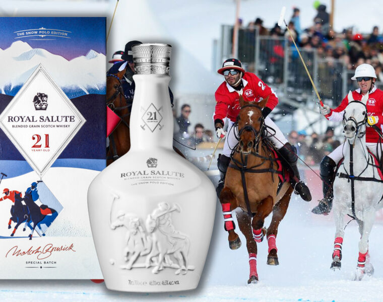 Royal Salute Whisky Unveils 21 Year Old Snow Polo Edition 23
