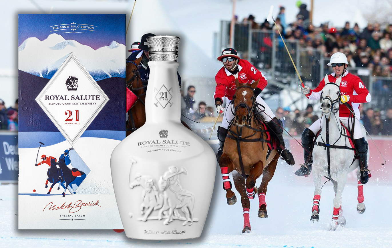 Royal Salute Whisky Unveils 21 Year Old Snow Polo Edition