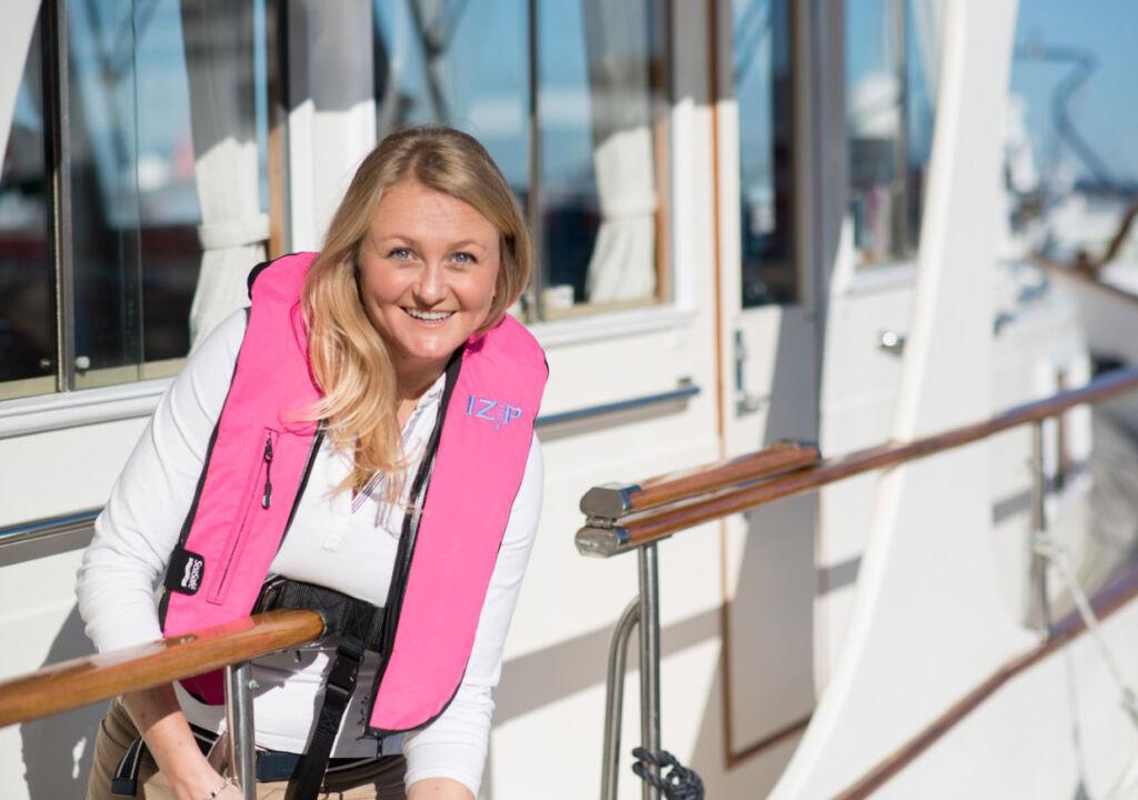 Seasafe Hot Pink lifejacket