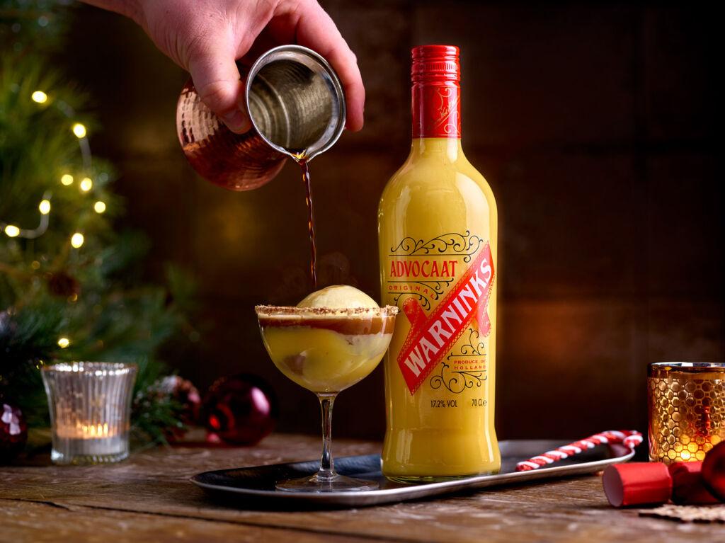 Warninks Italian Snowball Cocktail