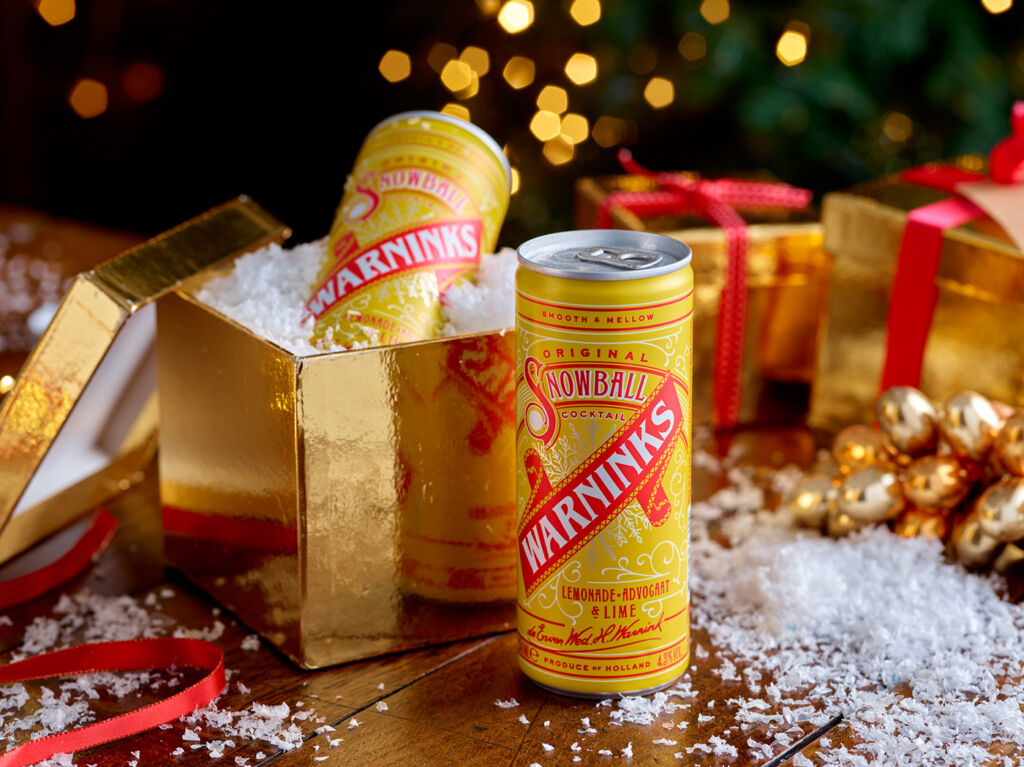 Warninks Original Snowball Cocktail in a can