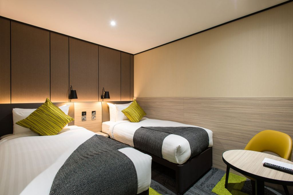 Aerotel London Heathrow with twin beds