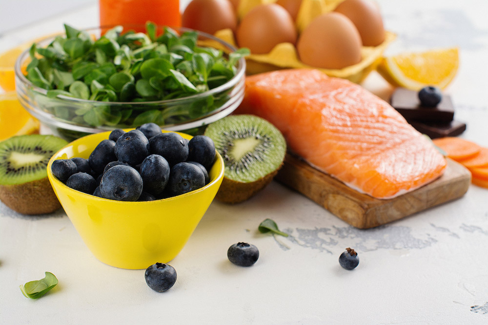 The correct diet can help to improve eyesight