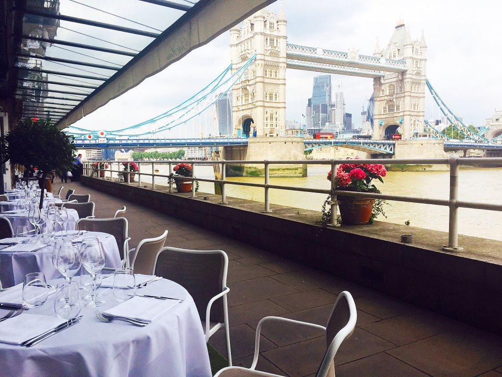 Sublime Steak And Swoonworthy Views at Butler's Wharf Chophouse