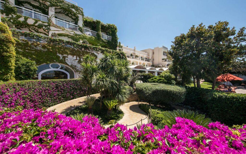 Capri Palace Italy exterior