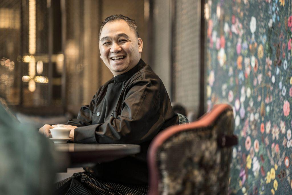 Chef Jimmy Wong at Yun House in the Four Seasons Kuala Lumpur