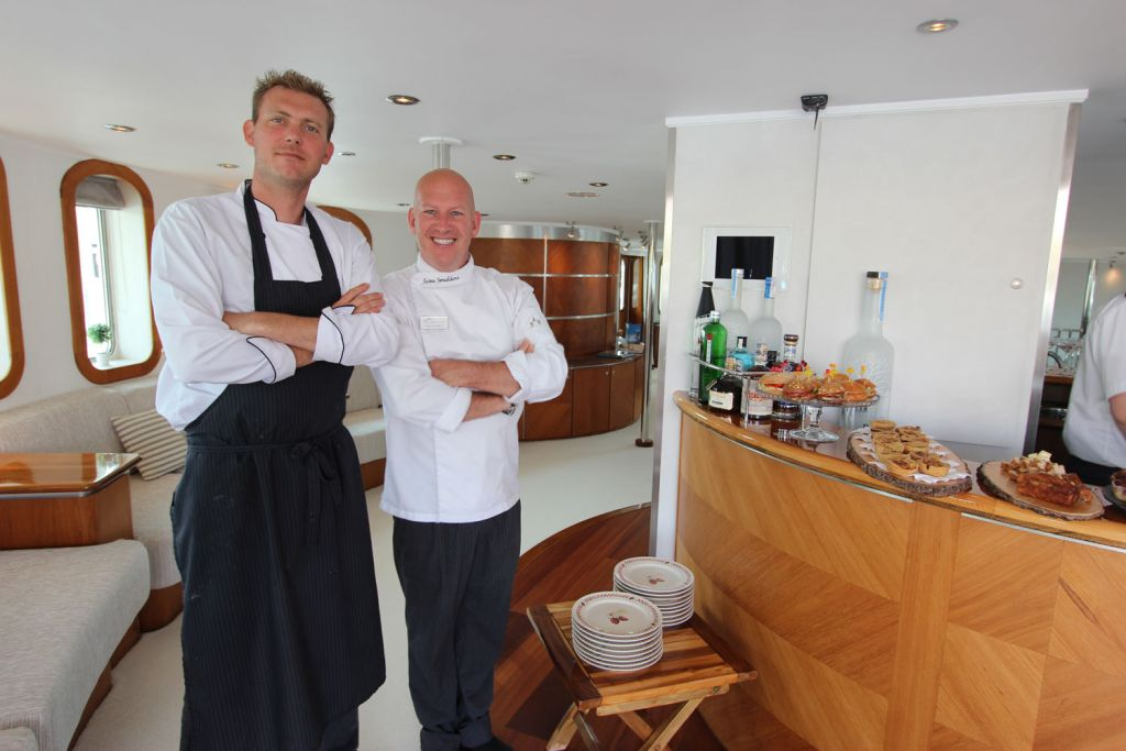 Michelin-Starred Toine Smulders Reveals The life of a Chef on a Superyacht 3