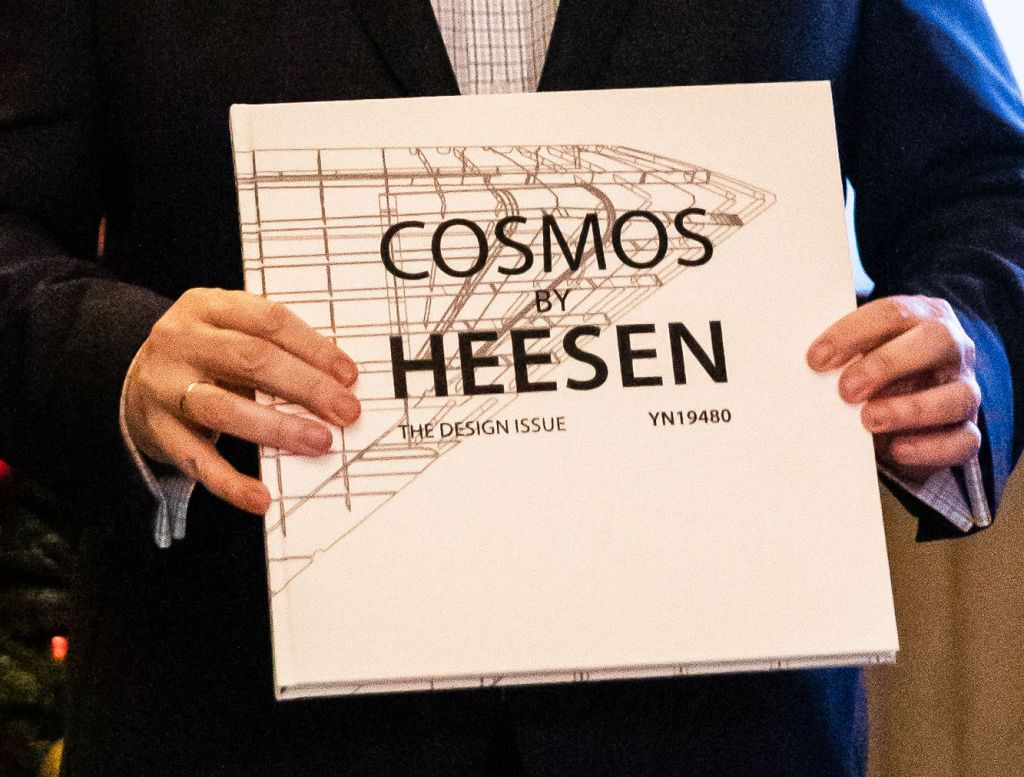 Cosmos by Heesen - The Design Issue.