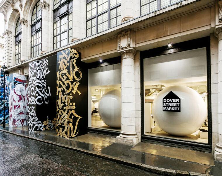 Comme des Garcons New Artist Collaboration for Dover Street Market
