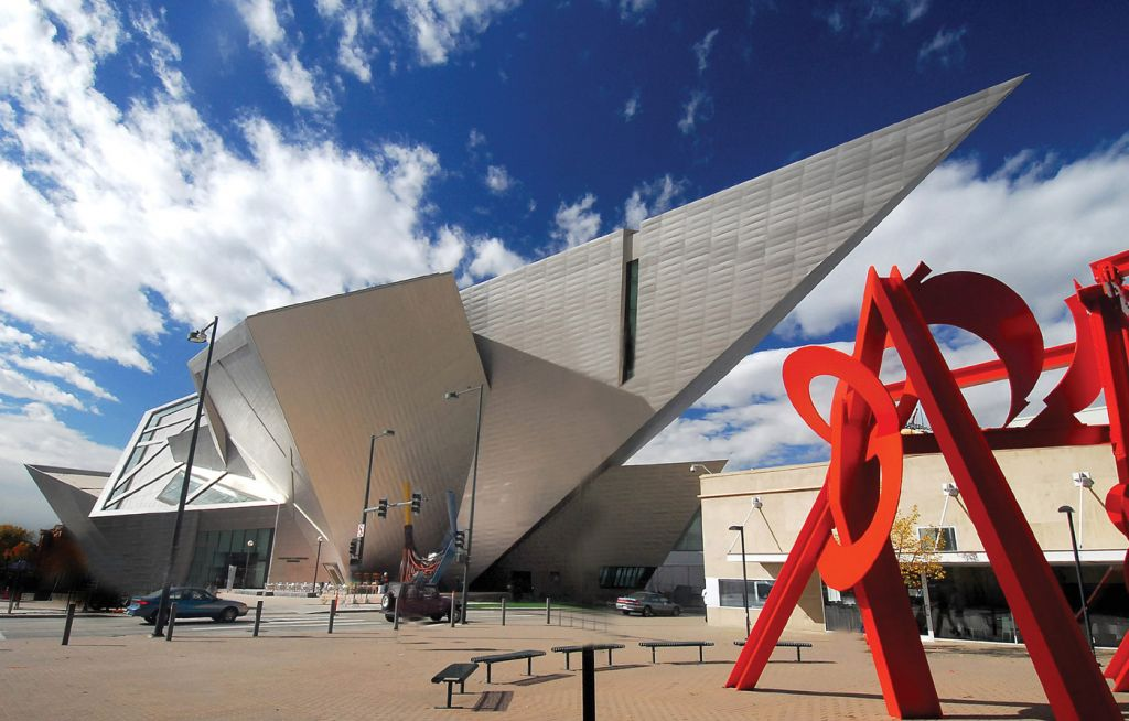 The Art Museum in Denver Colorado
