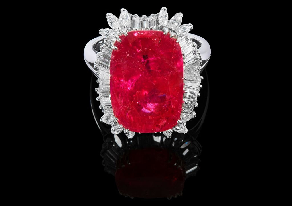 Rare 14.67 Carat Natural Ruby Smashes Initial Estimate at UK Auction