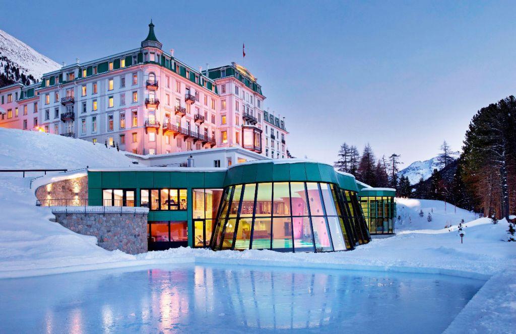 Grand Hotel Kronenhof Embraces Outdoor Wellness in the Winter Season