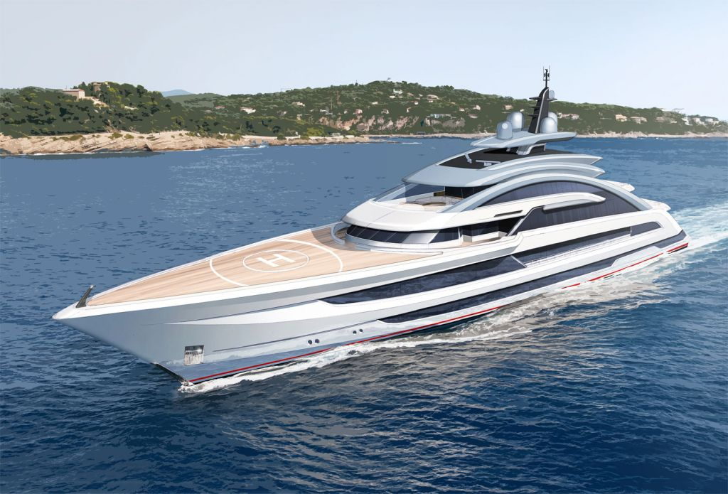 Heesen Yachts Project Cosmos