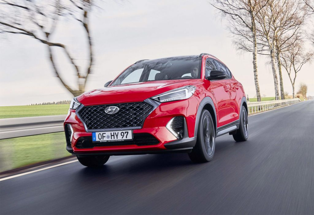 Hyundai Tucson UKs fastest selling used car.
