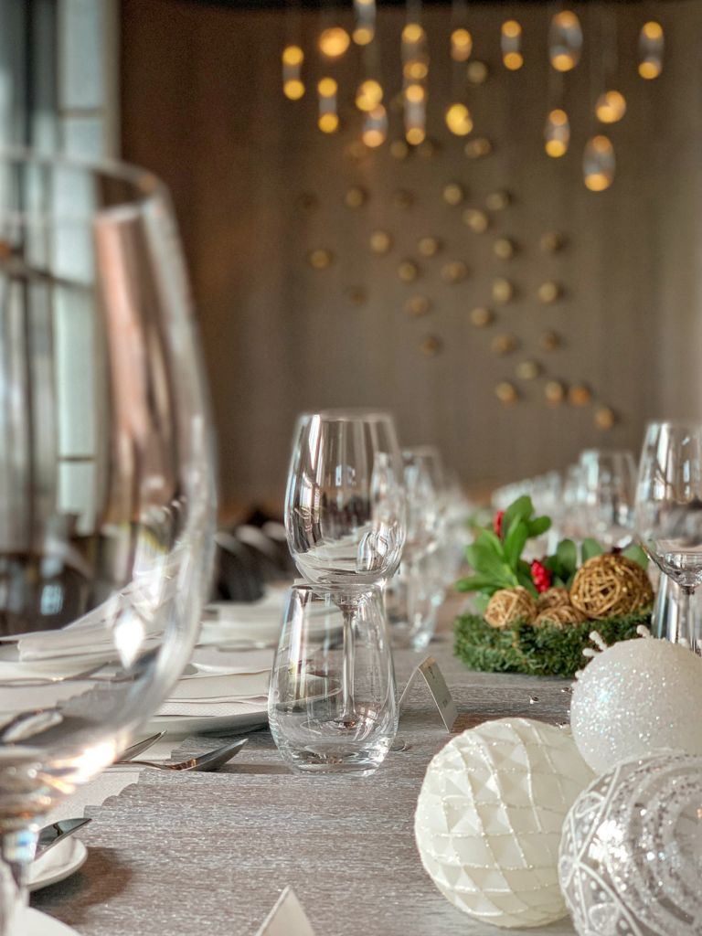 Chef Stroobant has introduced four new menus for the festive season.