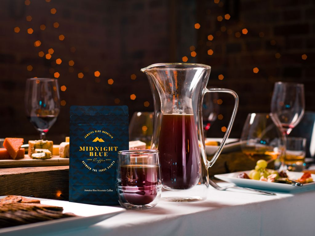 Midnight Blue takes the concept of luxurious Blue Mountain coffee one step further