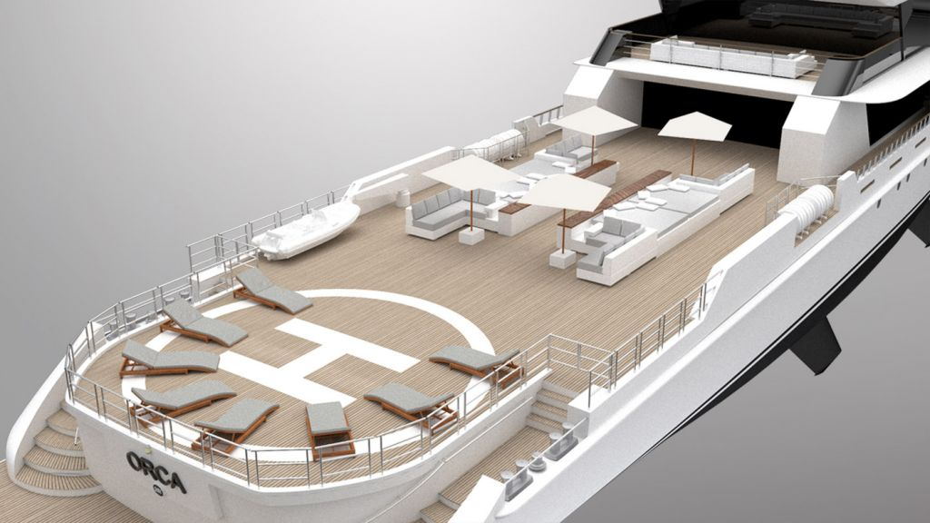 """Rosetti's 65m Explorer Project """"Orca"""" - Innovation Inspired by Nature 14"""