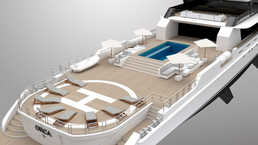 """Rosetti's 65m Explorer Project """"Orca"""" - Innovation Inspired by Nature 15"""