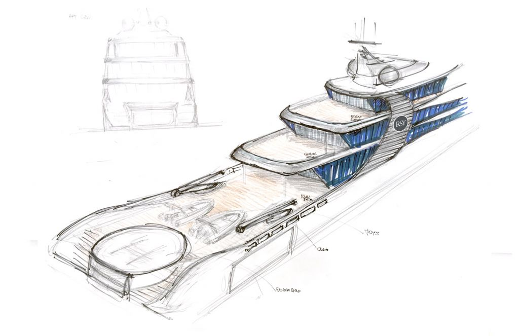 """Rosetti's 65m Explorer Project """"Orca"""" - Innovation Inspired by Nature 13"""