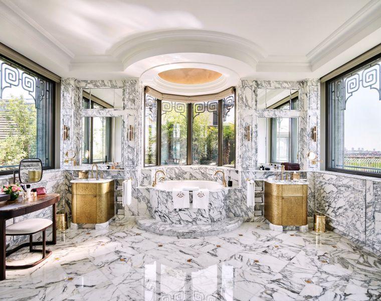 The Belle Etoile Suite bathroom.