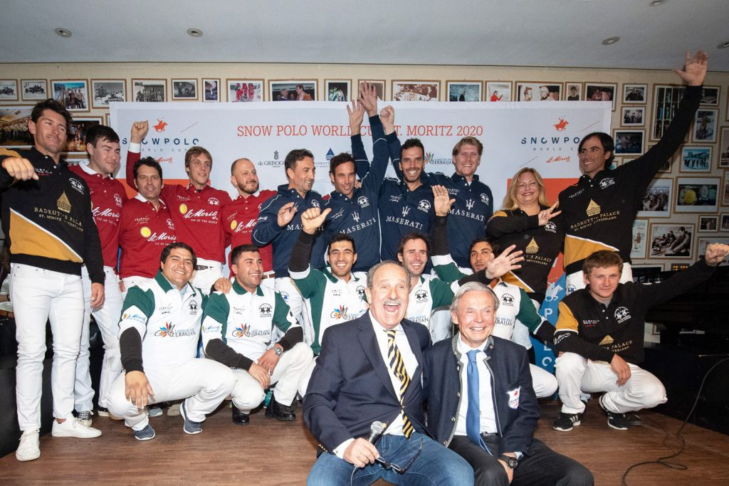 The 2020 Snow Polo World Cup in St. Moritz Gets Underway 2