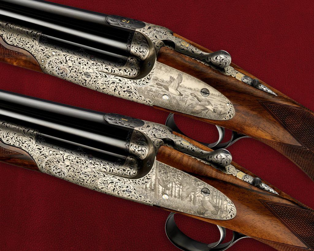 Amazing detail on handmade gun